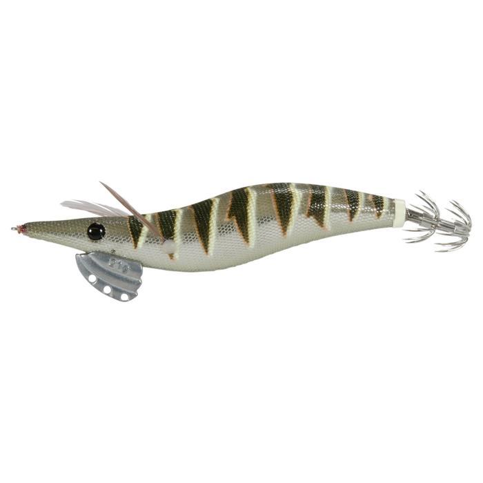 Anzuelo múltiple pesca de cefalópodos EBIKA 3.5 NATURAL