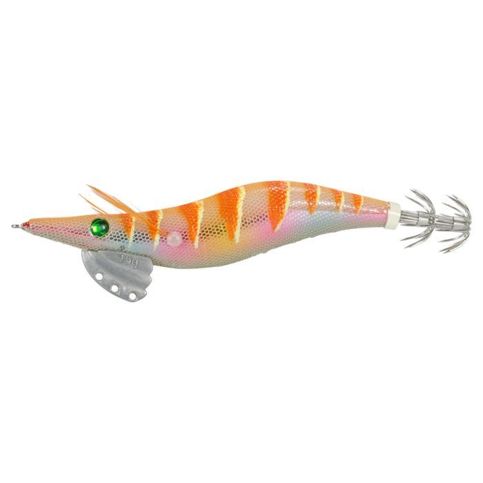 Anzuelo múltiple pesca de cefalópodos EBIKA 3.0 NARANJA