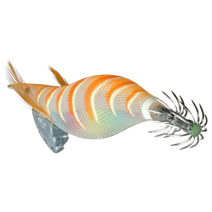 Turlutte EBIKA 3.5 orange pêche des seiches/calamars