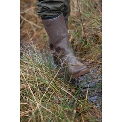 Gummistiefel Glenarm 300 warm Jagd braun