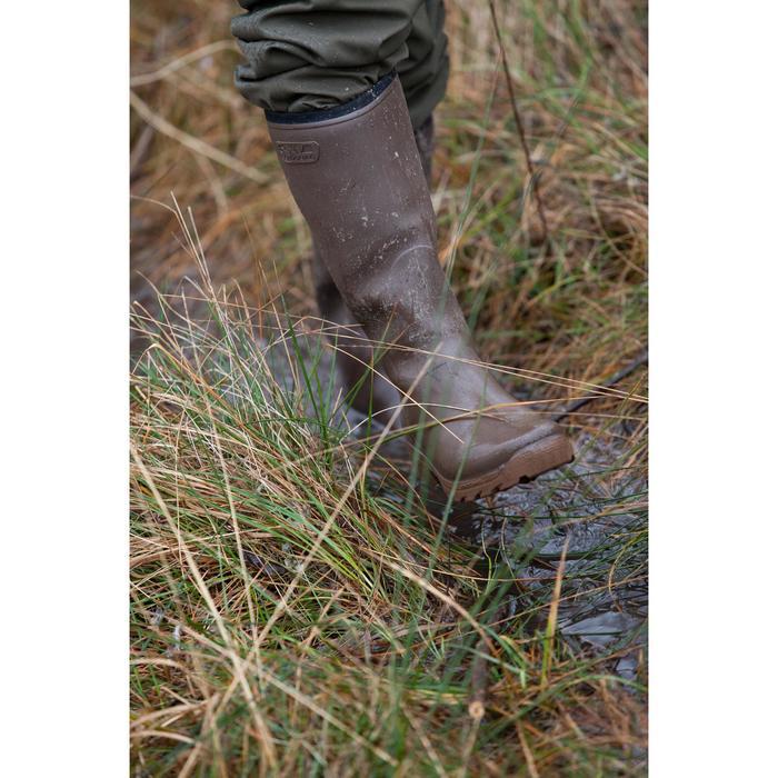 Warme jachtlaarzen Glenarm 300 bruin