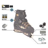 Street 5 Adult Aggressive Inline Skates - Black/Gold
