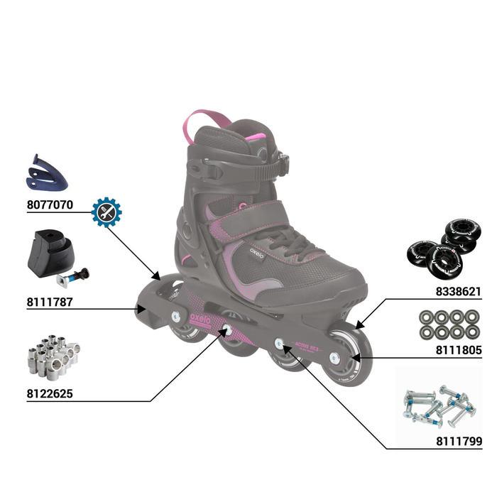 Fit 3 Women's Fitness Inline Skates - Black/Fuchsia - 36925