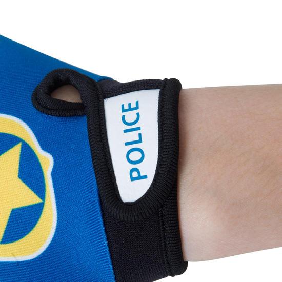 GANTS VELO ENFANT POLICE BLEU