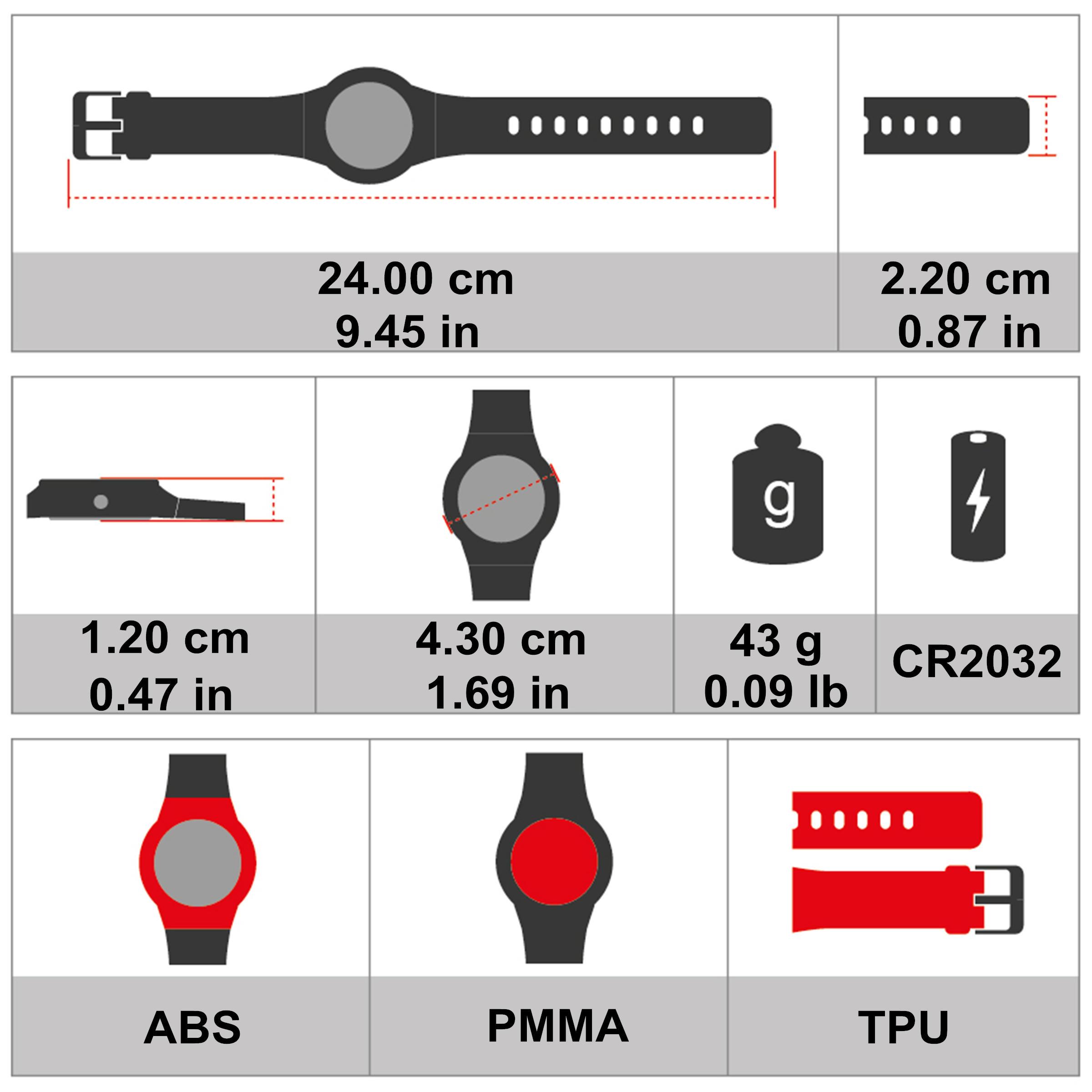 87809b6f312c Reloj y cinturón cardiofrecuencímetro ONRHYTHM 110 negro - Decathlon