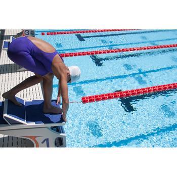 Combinaison de natation femme O JET PU NOIR - 371590