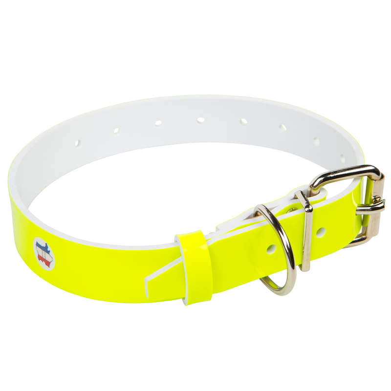 DOG ACCESSORIES - KEILER DOC COLLARD HIGH VISIBILITY YELLOW NO BRAND