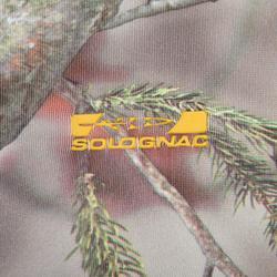 Camiseta Caza Solognac Actikam 500 Calida Camuflaje Marron