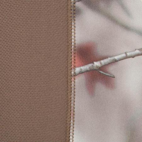 """Šilti medžiokliniai marškinėliai """"ACTIKAM 500"""", rudi kamufliažiniai"""