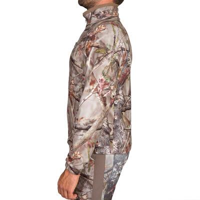 Флісова куртка Actikam 300 для полювання - Коричневий камуфляж
