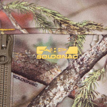 """Medību flīsa jaka """"300"""", meža kamuflāža"""