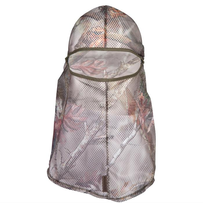 CAGOULE FILET CHASSE 100 CAMOUFLAGE FORET