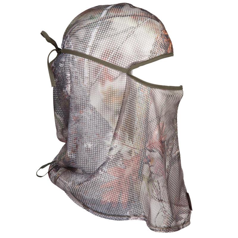 หมวกโม่งตาข่ายรุ่น ACTIKAM 100 (สีน้ำตาลลายพราง)