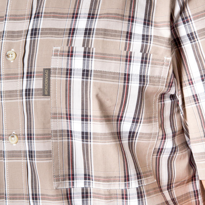 NAMIB 100 SS shirt Brown
