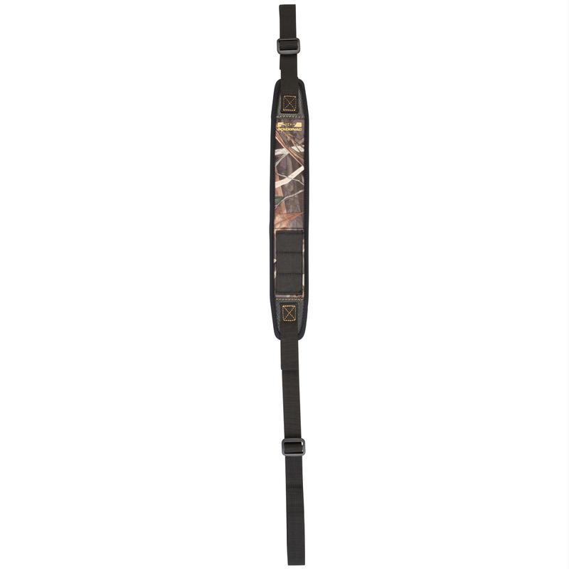 Bretelle chasse fusil 300 neoprene camouflage marais