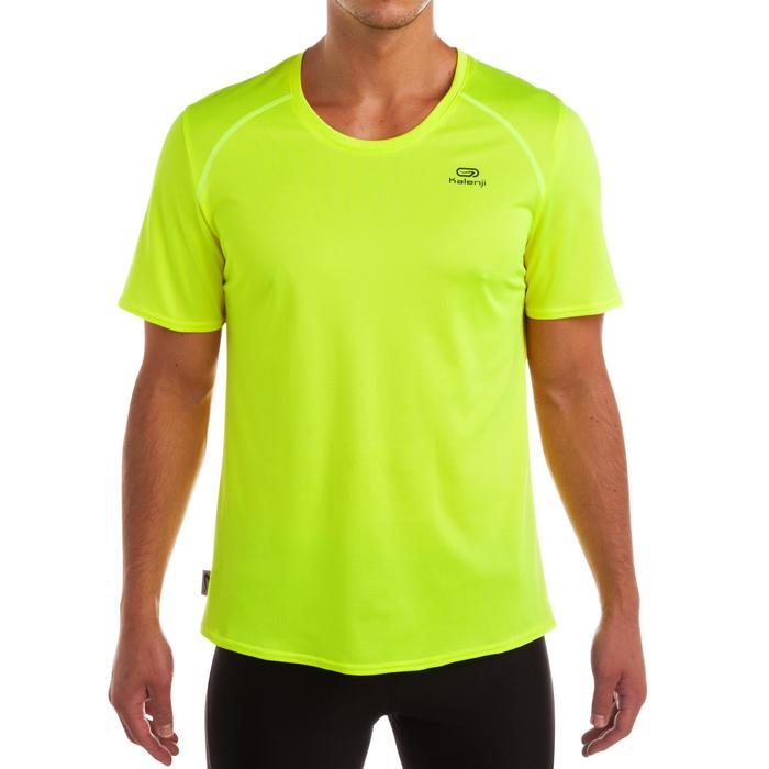 Tee shirt jogging jaune homme - 373660