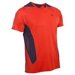 Camiseta Running hombre Eliofeel naranja gris