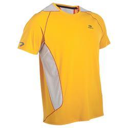 Camiseta Running hombre Eliofeel naranja blanco