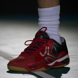 Badmintonschoenen / squashschoenen heren BS900 rood - 37405