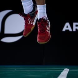 Badmintonschoenen / squashschoenen heren BS900 rood - 37408