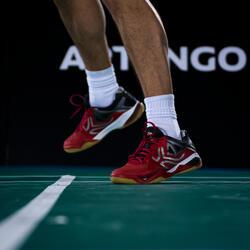 Badmintonschoenen / squashschoenen heren BS900 rood - 37415