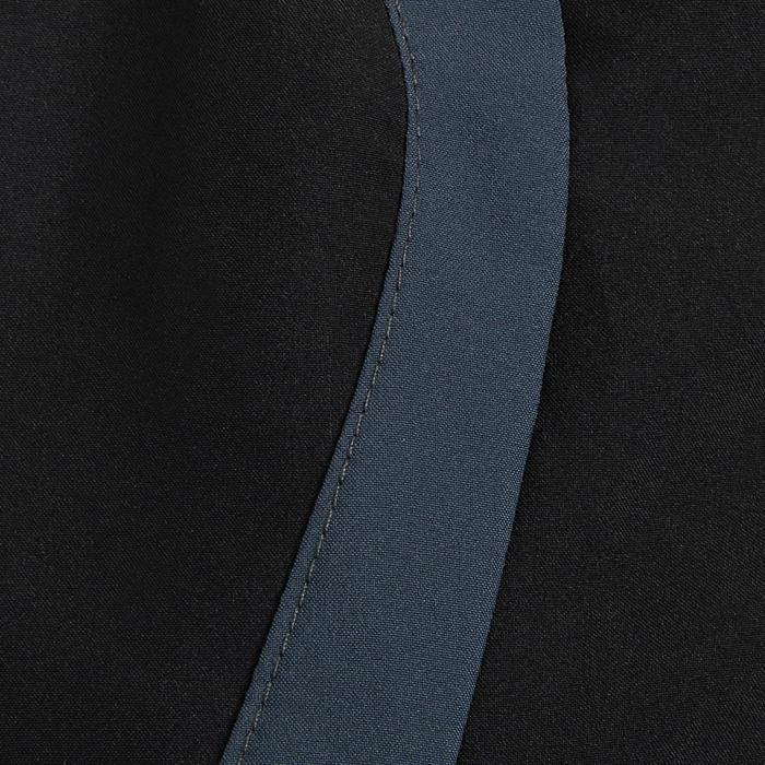 Loopshort voor heren Kiprun Split zwart