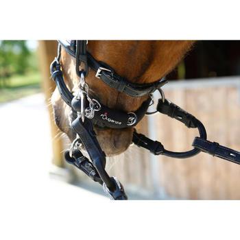 Pelham-Verbindungsriemen Pony/Pferd braun