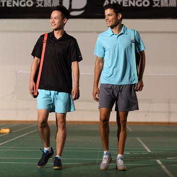Herenshort Essentiel marineblauw 100 tennis/badminton/tafeltennis/padel/squash - 375822