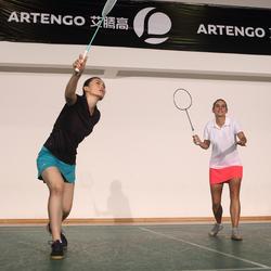 Sportshirt racketsporten Essential polo dames - 375899