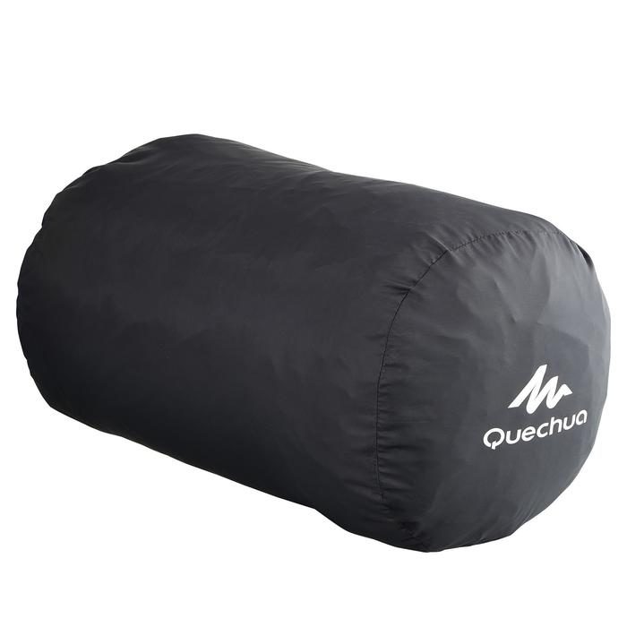 Zwarte draaghoes voor slaapzak of kampeermatje