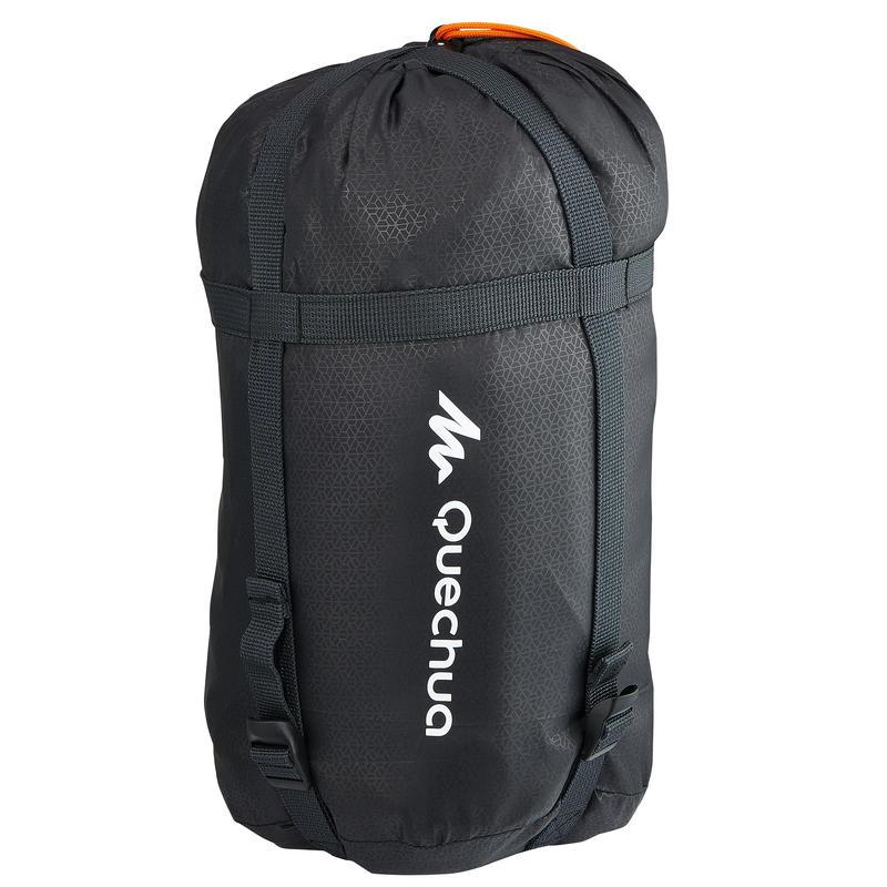 Funda de compresión de saco de dormir trek negra