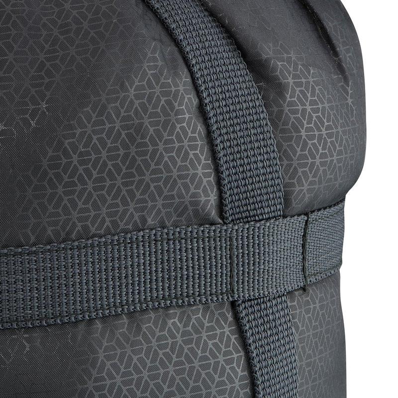 Housse de compression de sac de couchage trek noire