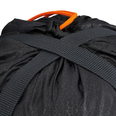 Forro de compresión de sleeping bag negro