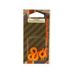 Accessoires hengelsport elastiekmontage elastiekbeschermer wedstrijdhengel x5 - 376117