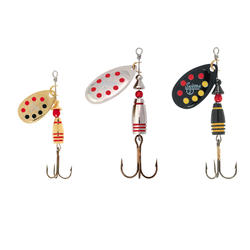 Lepels voor hengelsport Suissex-set forel rivierbaars - 376124