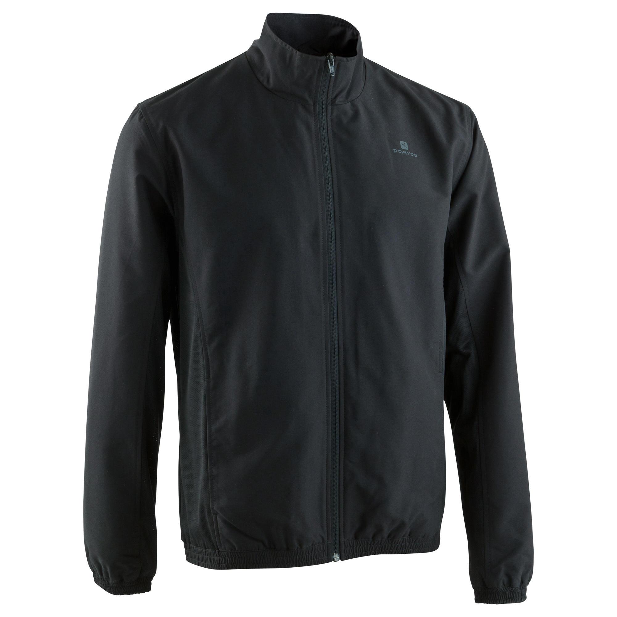 2020 best quality for amazing quality Menswear - FJA 100 Cardio Fitness Tracksuit Jacket - Black