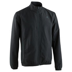 Men's Basic Fitness Tracksuit Jacket - Black
