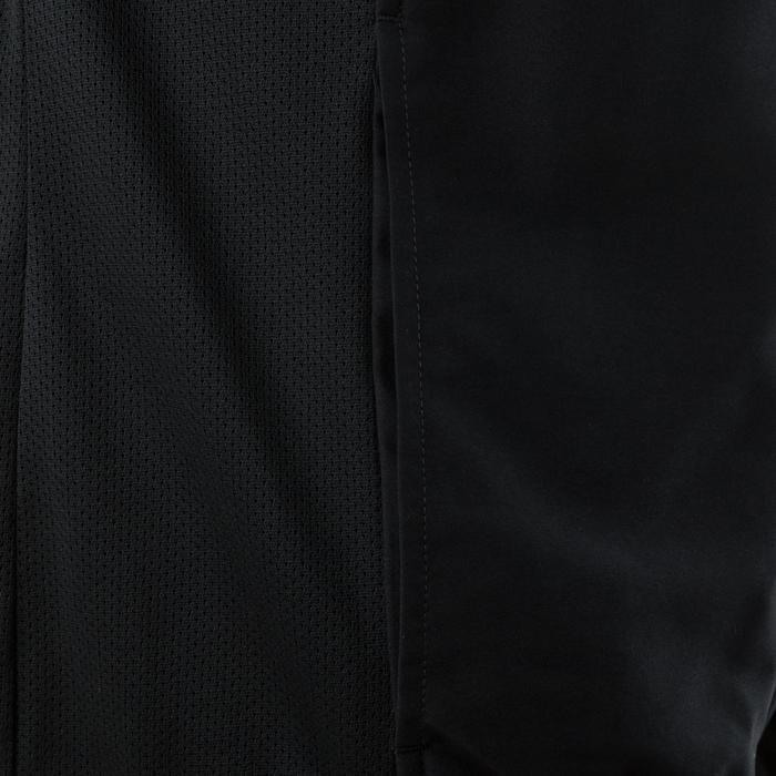 Chaqueta de chándal fitness cardio negro hombre 100