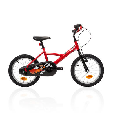 "VELO ENFANT 16"" HYPER HERO rouge"