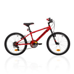 Racingboy 320 Kids' 20-Inch Mountain Bike 6-9 Years - Red