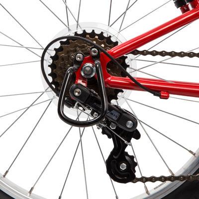 אופני הרים לילדים בגיל 6-8 Racingboy 320 בגודל 20 אינץ' - אדום
