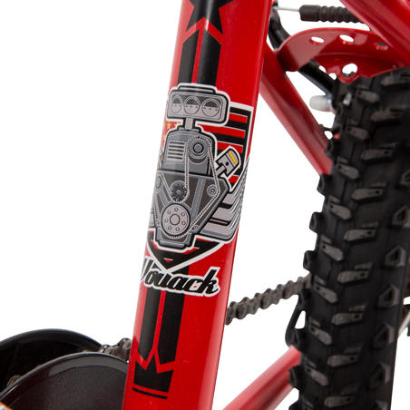 Racingboy 320 Kids' 20-Inch Mountain Bike 6-8 Years - Red