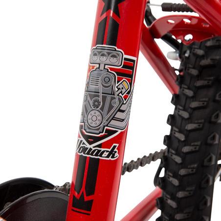 """""""Racingboy 320"""" vaikiškas 20 col. kalnų dviratis 6–8 metų vaikams, raudona"""