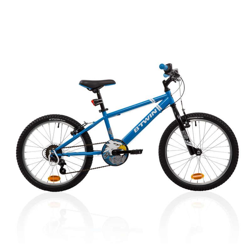 MOUNTAINBIKES JUNIOR 6-12 ÅR Cykel - MTB RACINGBOY 320 6-9 år blå BTWIN - Cykel 17