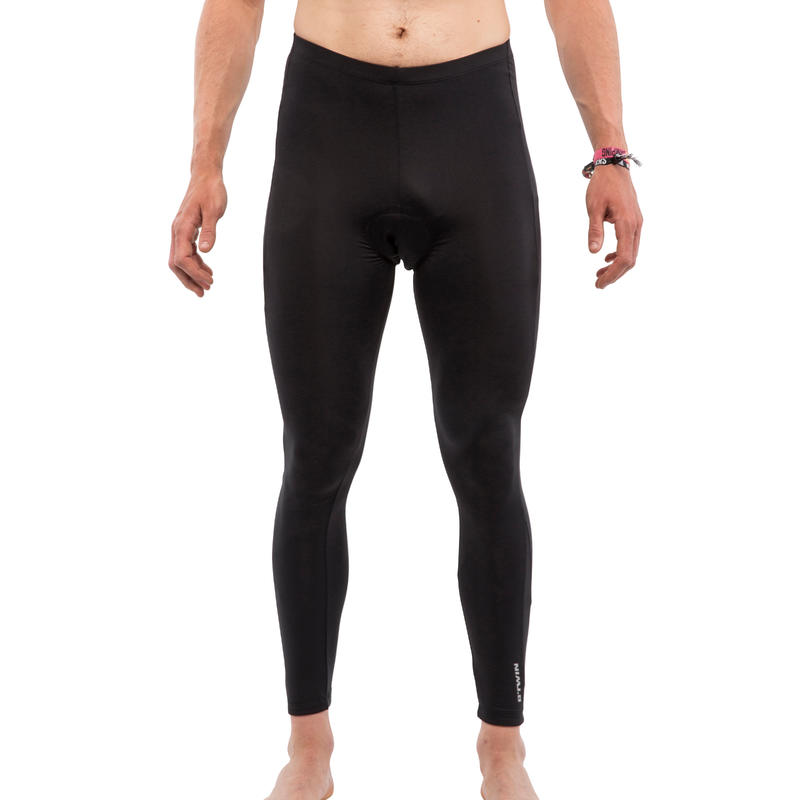 100 Bibless Cycling Tights - Black