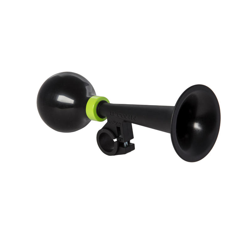 Kids' Bike Horn - Black/Green