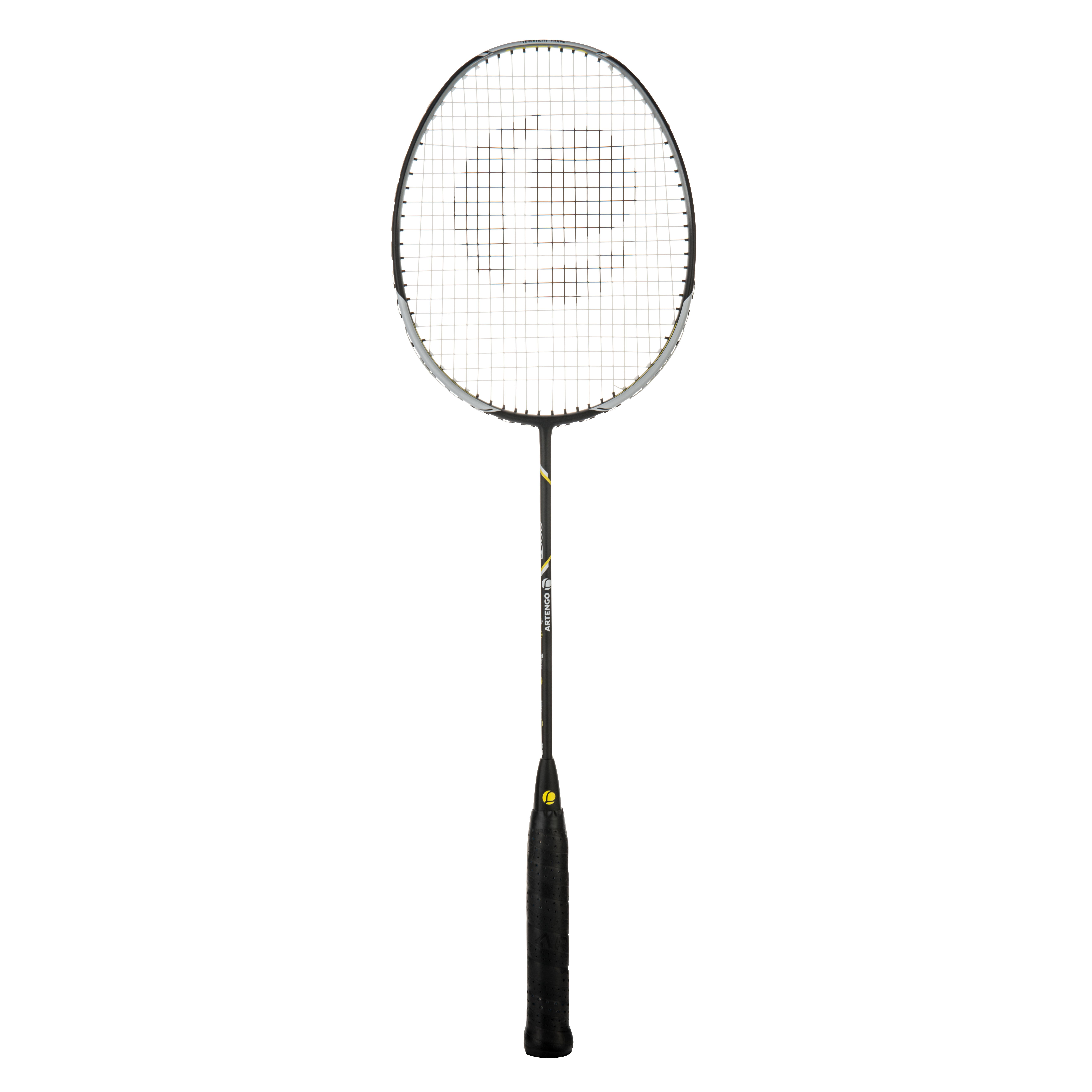 Badmintonracket BR800 voor volwassenen zwart-geel