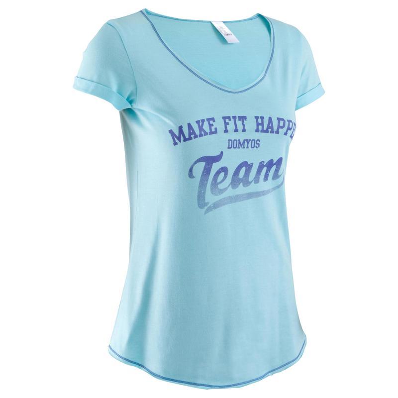 moderate Kosten abwechslungsreiche neueste Designs beste website Damenbekleidung - T-Shirt Damen, bedruckt/hellblau