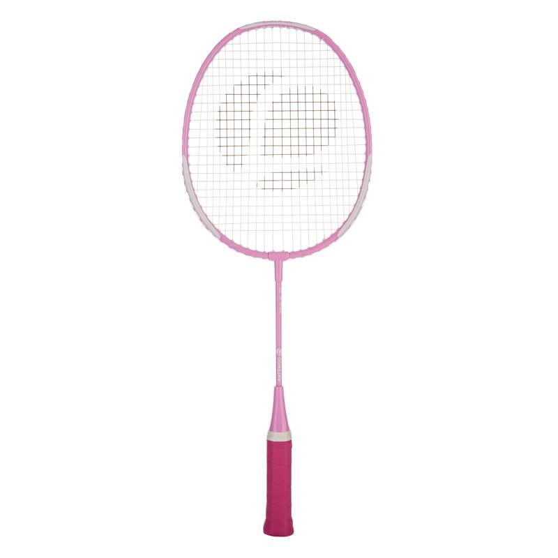 DĚTSKÉ RAKETY NA BADMINTON RAKETOVÉ SPORTY - DĚTSKÁ RAKETA BR700 RŮŽOVÁ PERFLY - Badminton