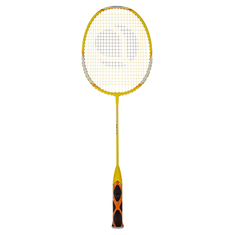 Badmintonracket voor kinderen BR730 Easy geel